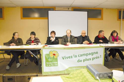 L'association Bienvenue à la ferme participe à la promotion du Cantal.